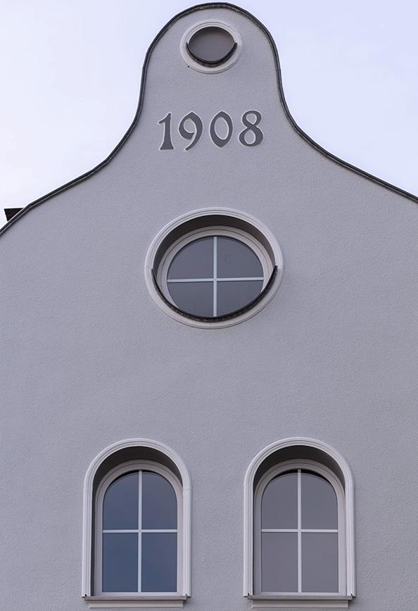 Jugendstil-Fassade Jasminstraße 9