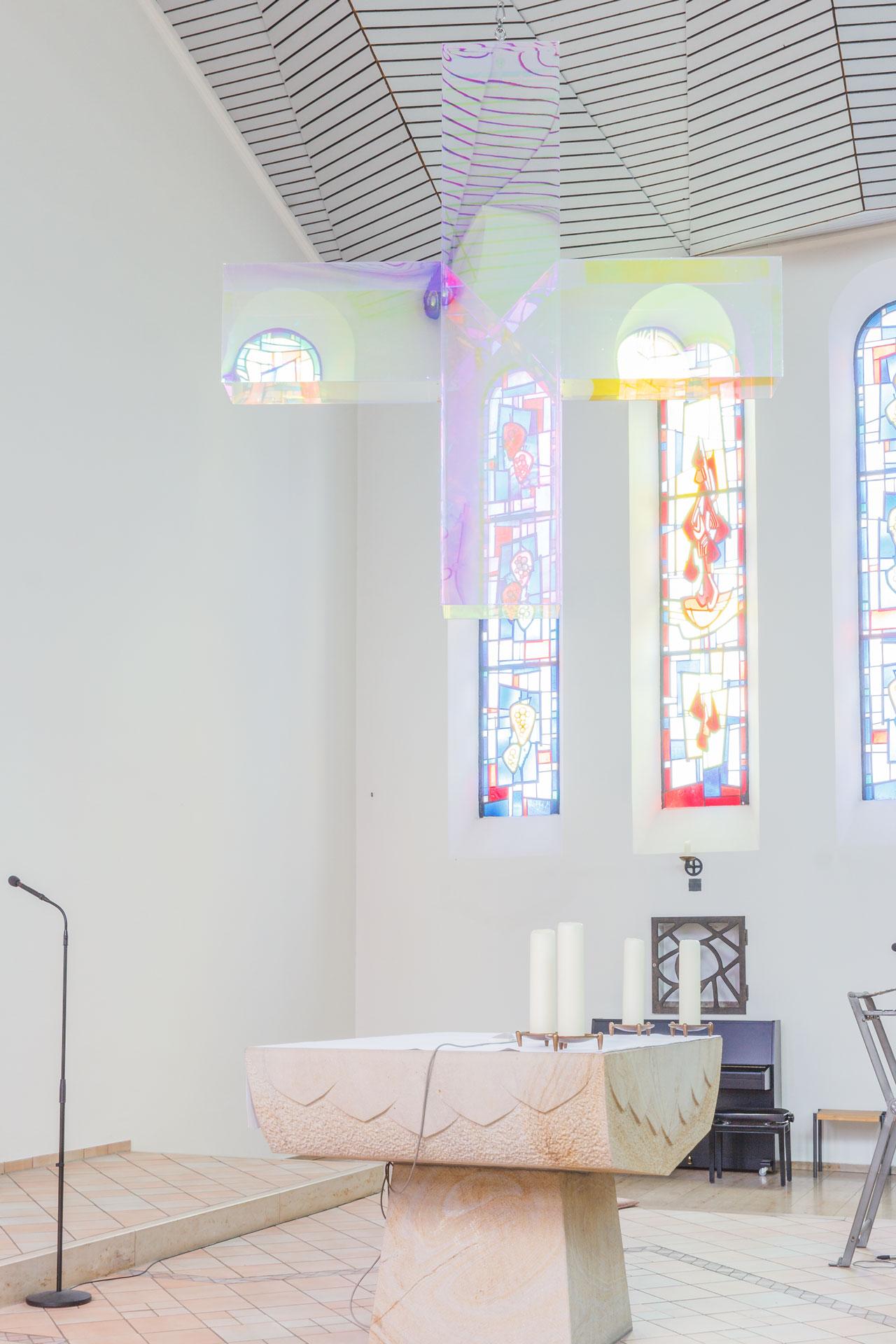 Farbkonzept und Neugestaltung der Kath. Pfarrkirche St. Patrokli, Dortmund-Kirchhörde
